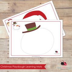 Christmas Playdough mats, set of 9 gorgeous Christmas Characters by Busy Little Bugs Toddler Christmas, Christmas Crafts For Kids, Christmas Activities, Christmas Printables, Christmas Themes, Rainy Day Games, Holiday Classrooms, Playdough Activities, Christmas Characters