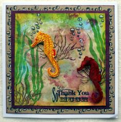 Underwater Angels and Hidden Stars | Sheena Douglass - Crafts, Papercrafting, Stamps, Create & Craft