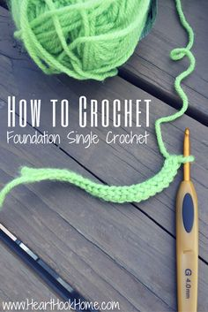 Foundation Single Crochet will make you a better (and certainly faster!) crocheter. Let me teach you how to complete this game changing stitch.