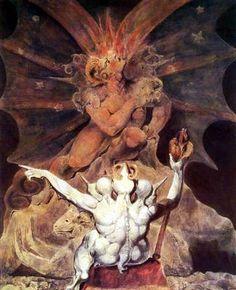 Le nombre de la bête est 666, par William Blake