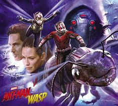 Andy Park, Marvel Studios visual development supervisor and concept artist, shared a first look at the Ant-Man and The Wasp art that he painted for The Art of Ant-Man and the Wasp book. Ms Marvel, Vespa Marvel, Marvel Art, Marvel Heroes, Marvel Movies, Captain Marvel, Marvel Avengers, Comic Movies, Marvel Characters