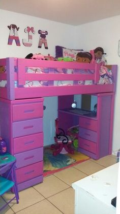 My 6yr Old Daughters Doc Mcstuffins Room