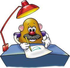 Mr Potato works