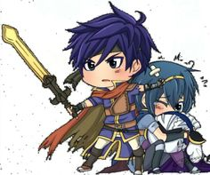 Ike, marth, and meta knight