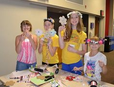 Members of the Fantastic 4 4-H Club hosted a May Day Celebration at the People's City Mission in Lincoln, NE.  The celebration was for elementary school age girls.  The kids celebrated with traditional dances, group activities, arts and crafts, healthy snacks, and a May Day basket.