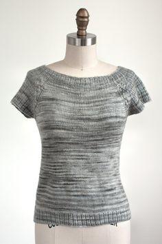 c30b20669c8e3d Manos Clara Frankford Tee Knitting Pattern PDF Sweater Knitting Patterns