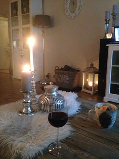 My home! Interior, wine, chill