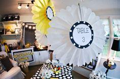 Polka Dot Table Signs