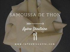 Petite recette de samoussas au thon. Facile à réaliser et idéal pour épater les convives