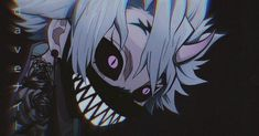 Anime Girl Kimono, Anime Art Girl, Anime Guys, Cute Cartoon Images, Cartoon Profile Pictures, Anime Gangster, Graffiti Wallpaper Iphone, Neon Photography, Anime Devil