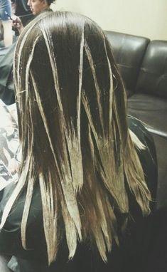 Колорирование волос в домашних условиях балаяж