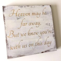 A personal favorite from my Etsy shop https://www.etsy.com/listing/222469889/wedding-memorial-sign-memorial-sign