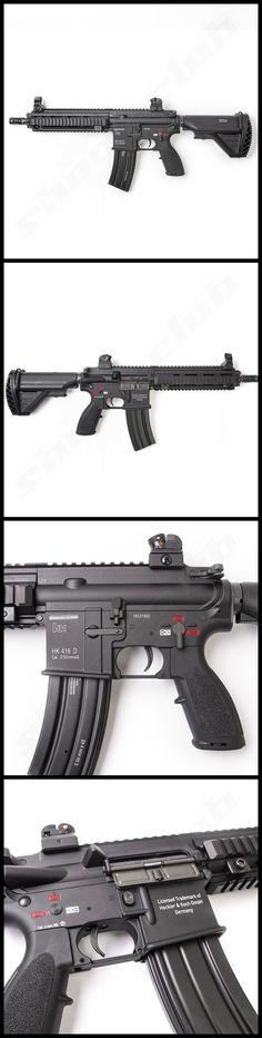 VFC Heckler und Koch HK416 CQB Next Gen. mit Mosfet SAEG Softair Gewehr LiPo…   #shootclub #airsoft #softair