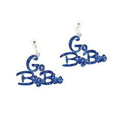 "GREAT FOR MOTHER'S DAY & GRADUATION!  Kentucky Wildcats ""Go Big Blue"" Slogan Earrings Sports Te... https://www.amazon.com/dp/B071CTKVP4/ref=cm_sw_r_pi_dp_x_2jlazbQ6EDF80"