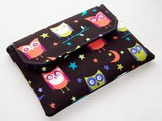 Clutch Bag Ipad Mini Night Owls by WhimsyWooDesigns on Etsy, £17.50