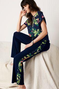 Buy Navy Circus Animals Print Pyjamas from the Next UK online shop Loungewear Outfits, Pajama Outfits, Mom Outfits, Fashion Outfits, Womens Fashion, Sleepwear Women, Pajamas Women, Women's Sleepwear, Nightwear