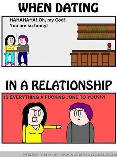 Comic – Relationship vs Dating