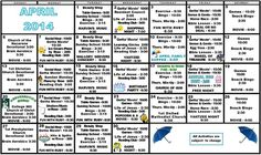 Nursing Home Activity Calendar Monthly Activity Calendar Jan 2015 Activity Calendars Activity Calendar Dining Services