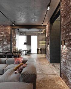 Loft Design, House Design, Revit, Scandinavian Style Home, Design Exterior, Interiors Magazine, Loft Interiors, Apartment Design, Interior Design Inspiration