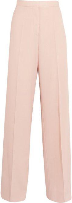 """Pin for Later: Heißt den Frühling willkommen mit diesen Kleidern in Pastelltönen Stella McCartney """"Elsmere"""" Hose aus Woll-Gabardine mit weitem Bein (520 €)"""