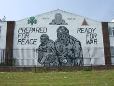 Most people know Belfast for this. 36 Reasons there's more to Belfast than the Troubles and the Titanic Northern Ireland Troubles, Belfast Northern Ireland, Belfast Dublin, County Cork Ireland, Galway Ireland, Ireland Vacation, Ireland Travel, Belfast Murals, Ireland Landscape