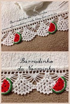OFICIN A DO BARRADO: Croche - BARRADINHOS versáteis ...