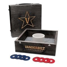 Washer Toss Game - Vanderbilt Commodores