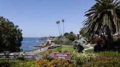 Walk one half of a mile through Heisler Park, located in Laguna Beach, CA