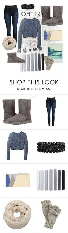 """""""The Icon Perfected: UGG Classic II Contest Entry"""" by avschafer ❤ liked on Polyvore featuring UGG, Bling Jewelry, Smythson, Polaroid, UGG Australia, ugg and contestentry"""