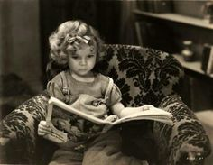 Shirley Temple reading. I already miss her:(