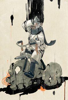 #James_Jean #Illustration