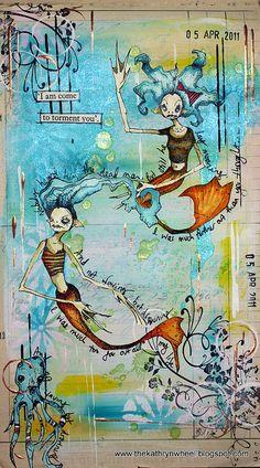 Art Journal - mermaids | Flickr - Photo Sharing!