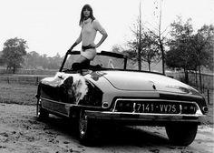 Citroen DS Cabriolet & Jane Birkin