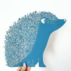 Stage one of mr hedgehog complete!  (Copyright Georgia Low) #papercut#papercutting#papercutart#papercutout#art#artoninstagram#artofinstagram#art_we_inspire#arts_help#artistic_share#hedgehog