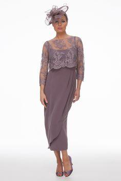 Grape Dress and Beaded Top | Joyce Young
