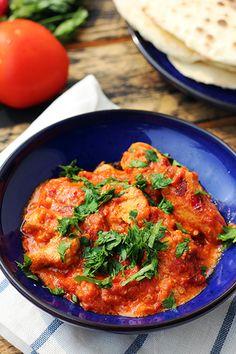 Indian food - tikka masala chicken