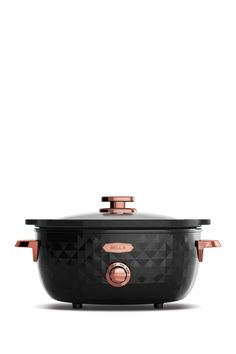 WOW...Beautiful Slow Cooker ! Diamond Black/Rose 6 Quart Manual Slow Cooker |   Sponsored by Nordstrom Rack.