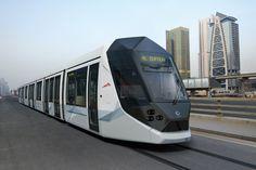 Tram Alstom Dubai