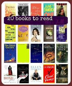 20 Books to read this Fall. Something for everyone!