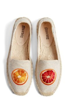 Soludos 'Oranges' Embroidered Espadrille Slip-On (Women) | No