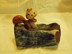 SALE Vintage American Bisque or Brush Squirrel by peacenluv72, $19.95