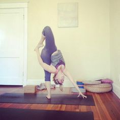 yoga craziness, from Kathryn Budig