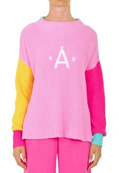 Yama Knit - Høst & Vår Jumpers, Sustainable Fashion, Color Blocking, Organic Cotton, Pullover, Knitting, Sweaters, Clothes, Outfits