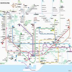 Mapas padronizados para os metrôs internacionais - uma boa ideia? - Blue Bus