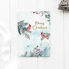 Christmas Card Printable Religious, Woodland Animal Card Christmas Time, Merry Christmas, Christmas Gifts, Christmas Decorations, Bible Verse Wall Art, Woodland Christmas, Printable Christmas Cards, Woodland Nursery Decor, Animal Cards