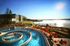 Velence Resort & Spa, Hungary Spa Packages, Vacation Packages, Outdoor Pool, Outdoor Decor, Heart Of Europe, Spa Deals, Military Discounts, Resort Spa, Hotel Offers