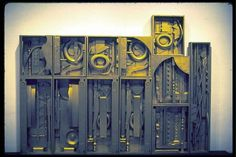 Royal Tide II. Related to  Louise NEVELSON (1899-1988)