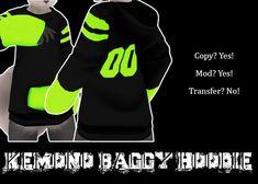 krankhaus - Kemono Baggy Hoodie