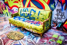 Is Graffiti for furniture? I think it is or at least it could be.