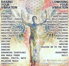 How to raise your vibration.